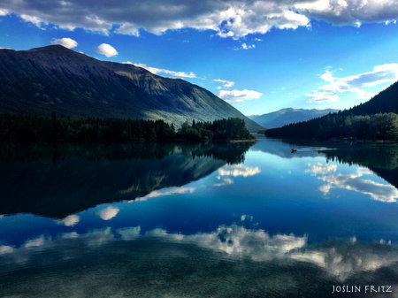 Chilko Lake British Columbia Canada