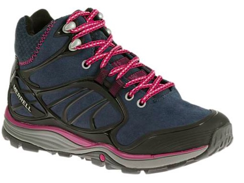 Women's Merrell Mid Waterproof Hiking Shoe