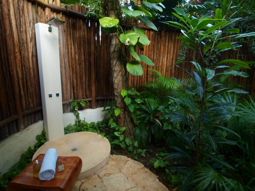 Viceroy outdoor shower