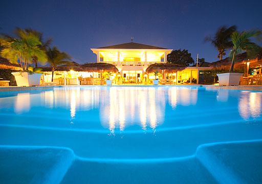 Meridian Club Pool Evening