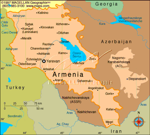 map-of-armenia