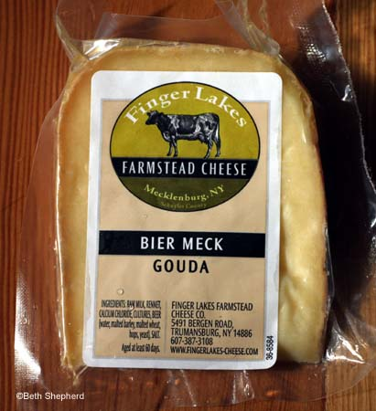 Finger Lakes Farmstead Bier Meck cheese