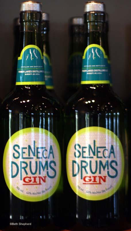 Seneca Drums Gin, Finger Lakes Distilling, Hector N.Y.