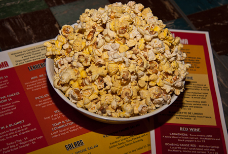 Popcorn with Brewer's yeast