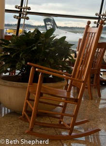 Sea-tac rocking chair
