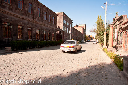 Taxi in Gyumri old Kyumari district