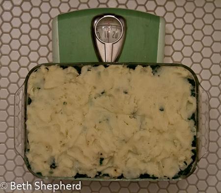 12 pound Shepherd's Pie