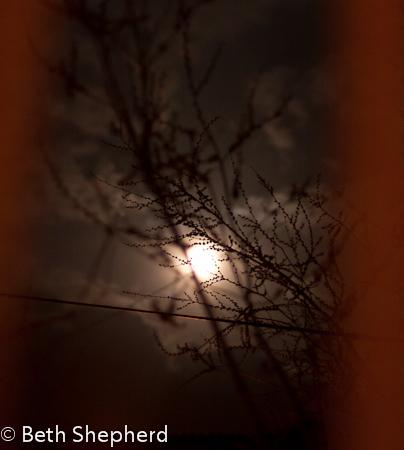 Full moon in Yerevan