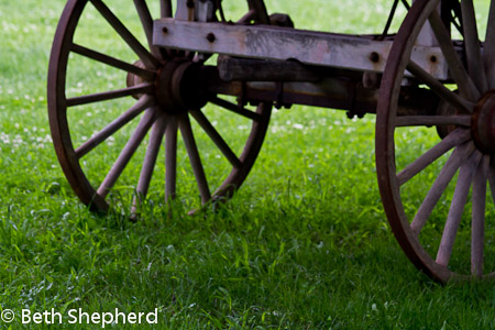 Lancaster wagon wheels