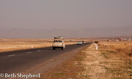 Highway to Gyumri