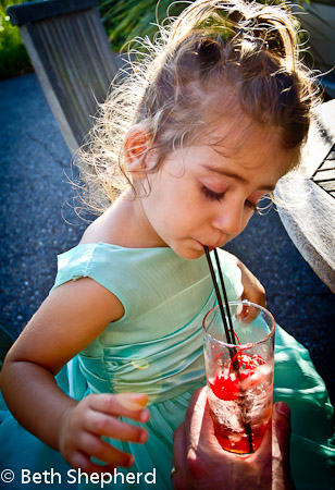 Sipping Shirley Temple 2