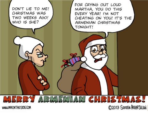 Happy Armenian Christmas