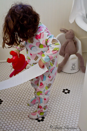 Potty training for Bunny