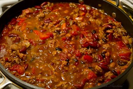 Beef And Dark Beer Chili Recipe — Dishmaps