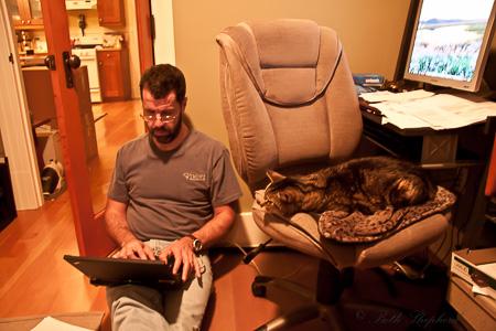 Maggie office work
