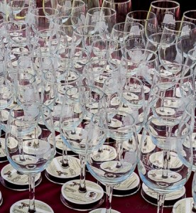 Kitsap Wine Festival in Bremerton wine glasses
