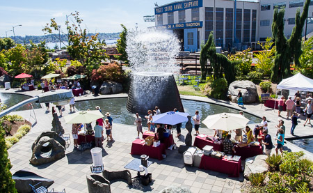 Sippin' on the dock of the bay: Kitsap Wine Festival
