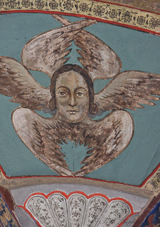 Angel heart at Echmiadzin Armenia