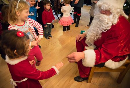 Close encounters of the Santa kind