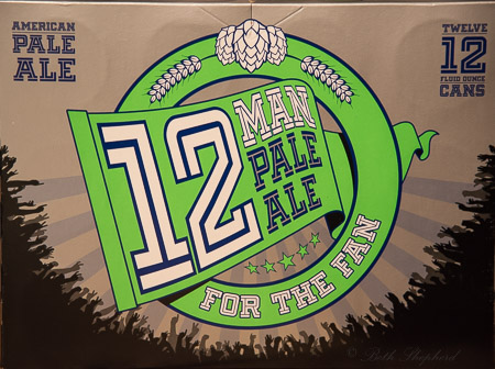 12 Man Pale Ale Dick's Brewing