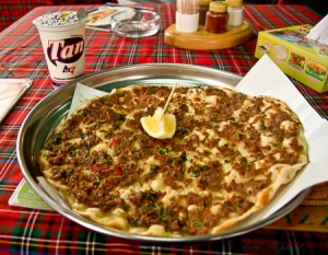 Armenian pizza