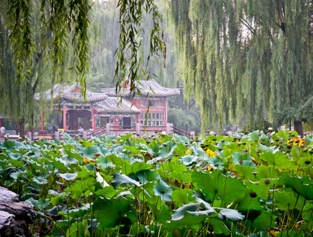Ri Tan Park and garden Beijing