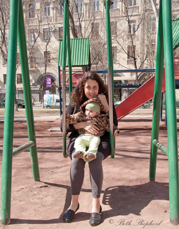Swings in yerevan