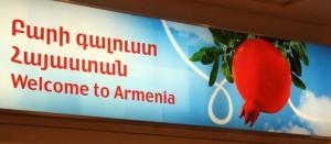 Airport Welcome to Armenia