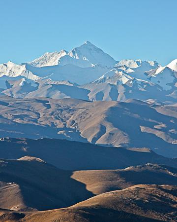 Mt Everest from Tibet