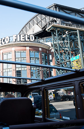 Safeco Field from bus
