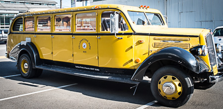 Yellowstone 1937 bus