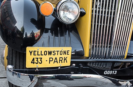Yellowstone park bus
