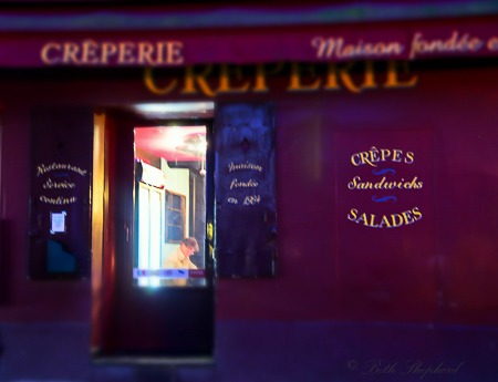 Montmartre at midnight