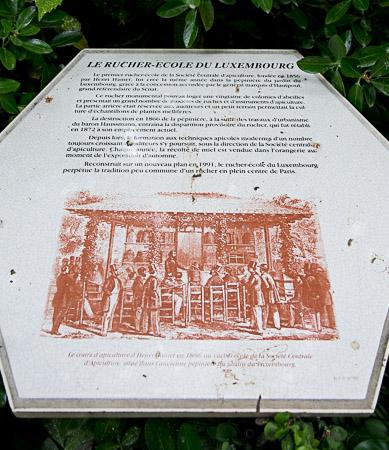 Le rucher-ecole du luxembourg