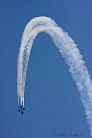 Blue Angels in the sky