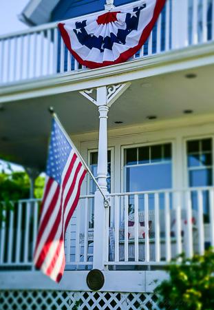 Gig Harbor house on July 4