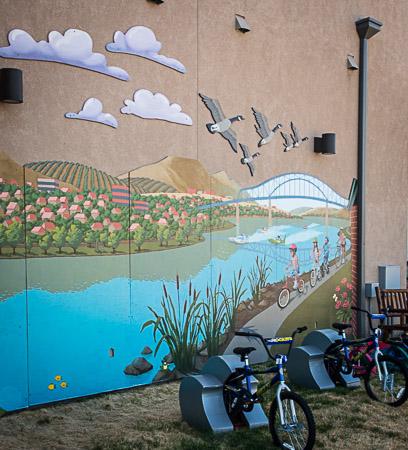 Mural REACH Columbia River