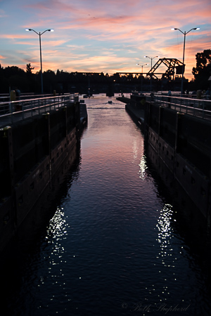 Beautiful Ballard Locks