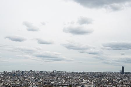 Paris from Montmartre