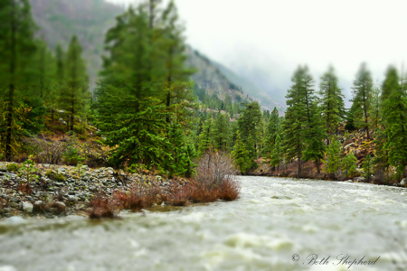 Wenatchee River in Leavenworth