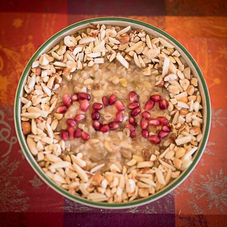 Anoush Abour 2016 Armenian Christmas Pudding