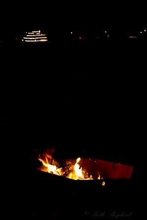 Bonfire and Christmas Ships