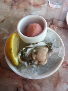 My first oyster
