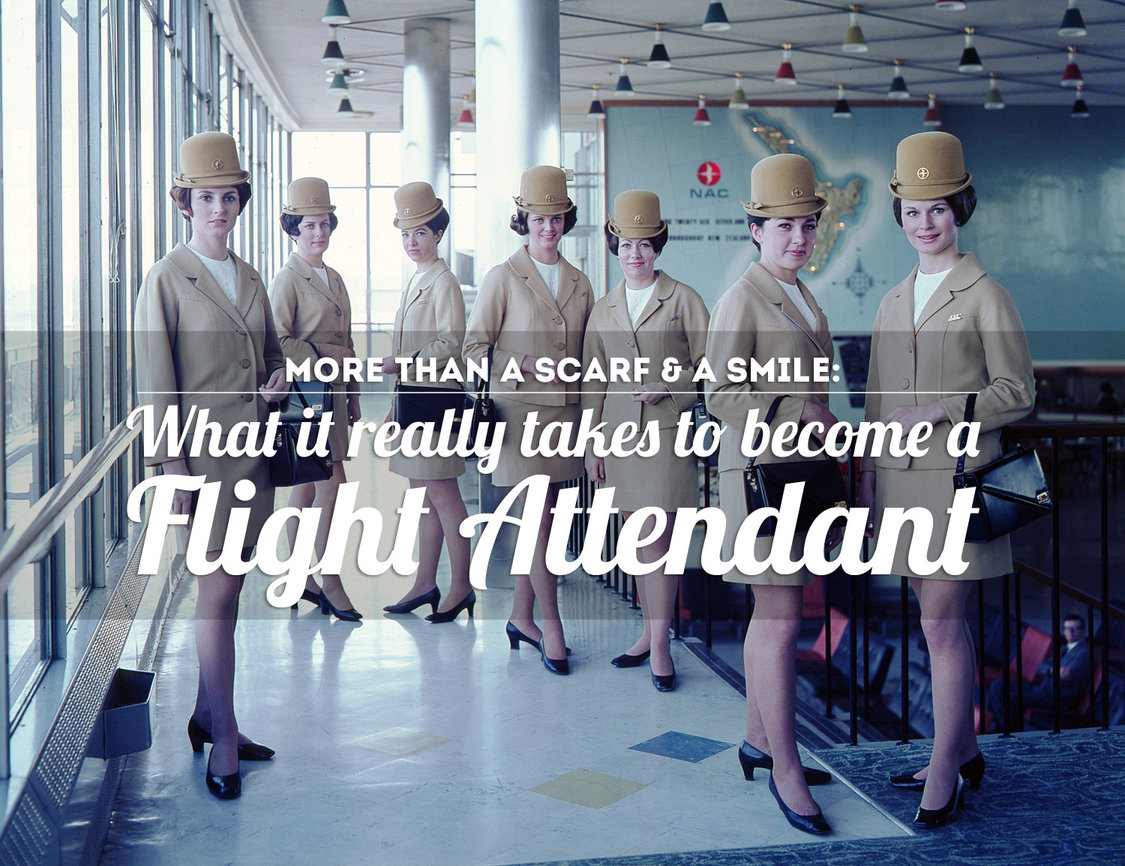 What It Really Takes To Become A Flight Attendant