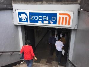 Zocalo Subway