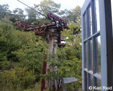 Rusty Lift Tower