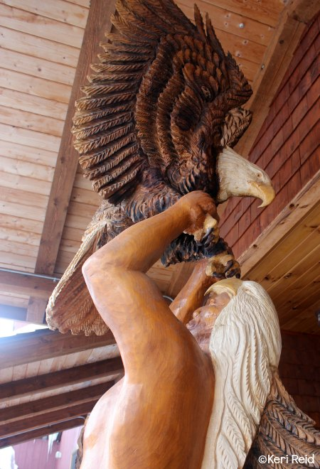 Eagle Sculpture Jay