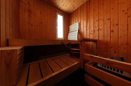 Sauna to fight cold or flu