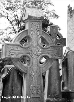 Celtic Cross Limerick Ireland Black & White Photo