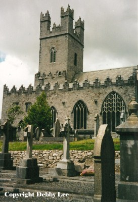 St. Mary's Cathedral & Graveyard Limerick Ireland